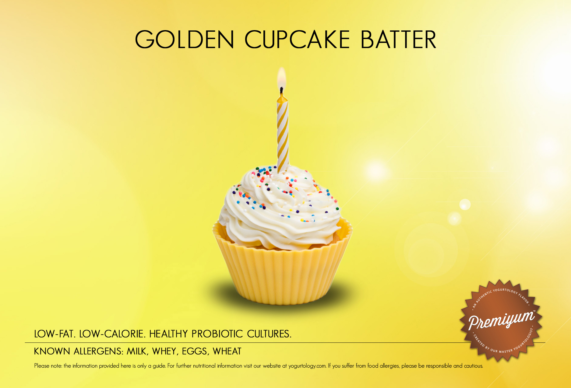 Golden Cupcake Batter