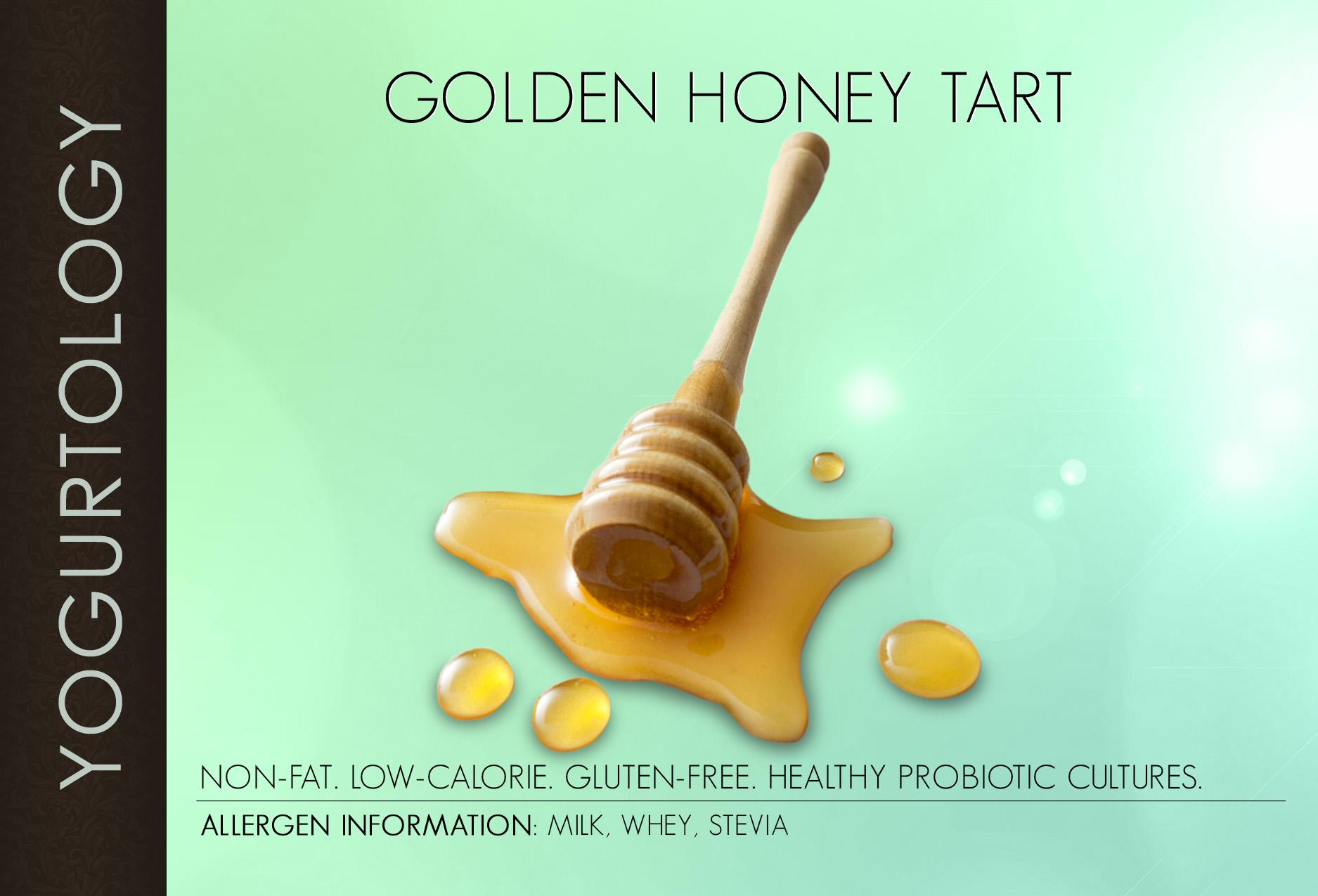 Golden Honey Tart