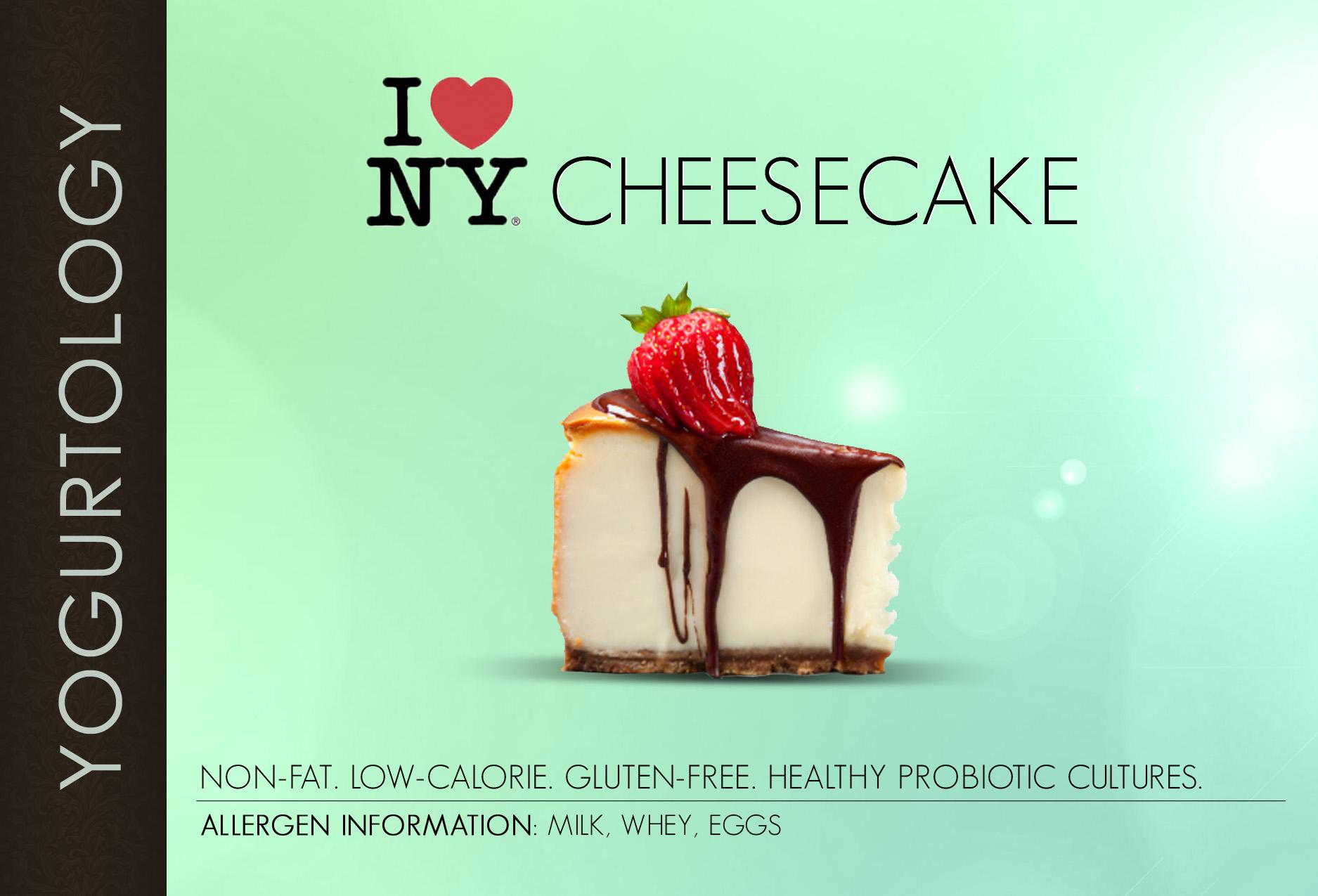 I Love New York Cheesecake