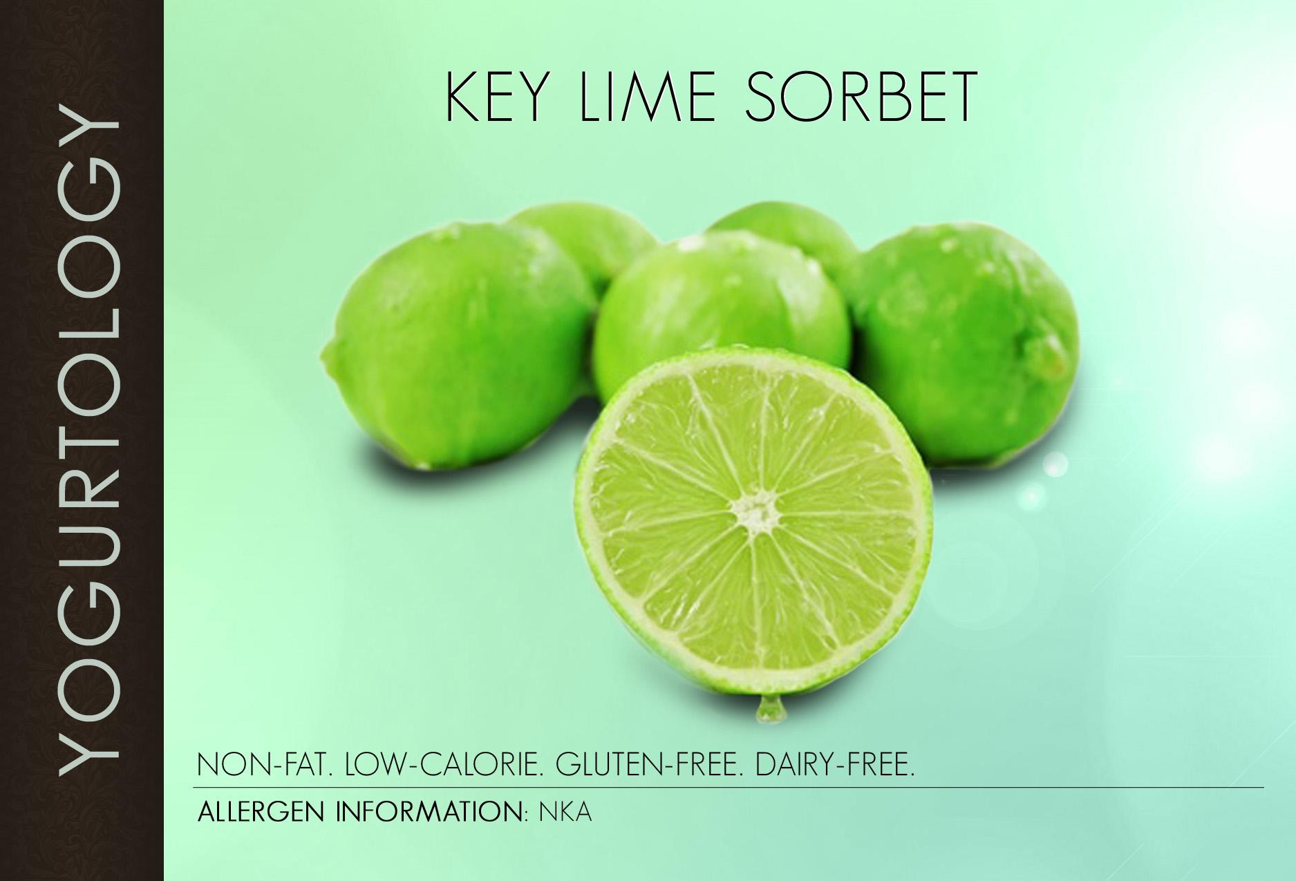 Key Lime Sorbet