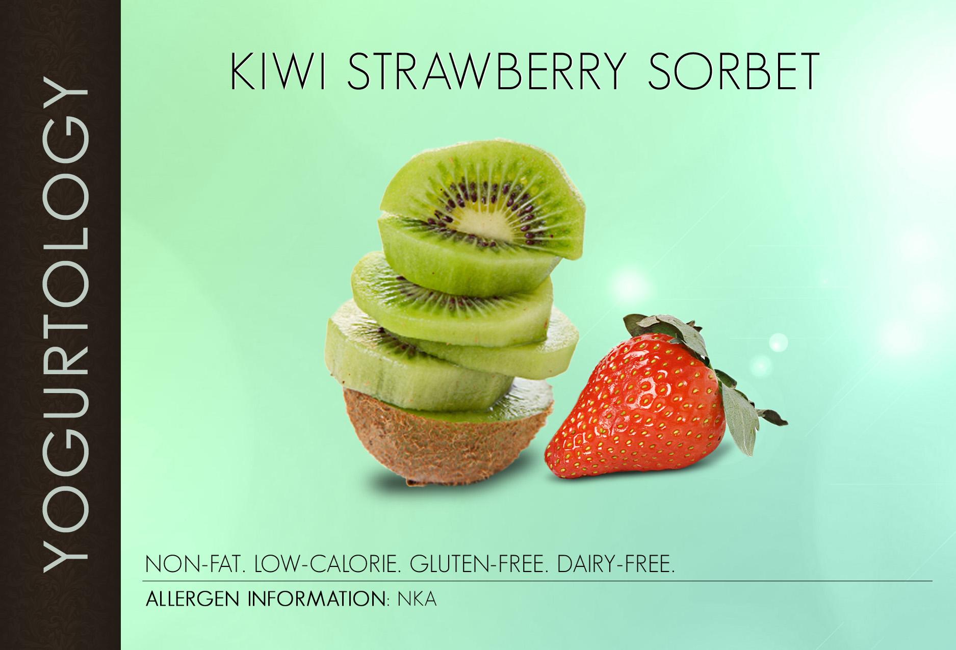 Kiwi Strawberry Sorbet