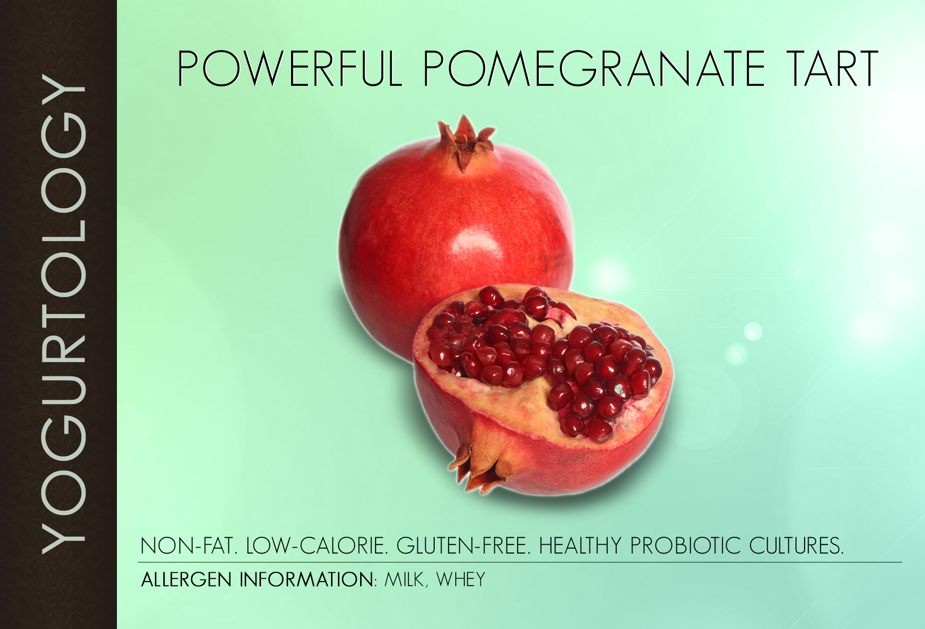 Powerful Pomegranate Tart