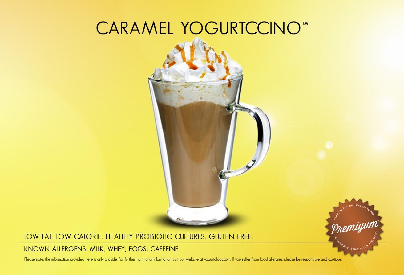 Caramel Yogurtccino™