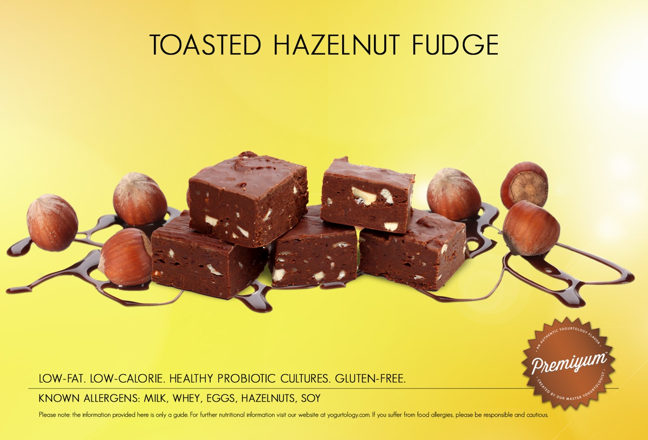 Toasted Hazelnut Fudge