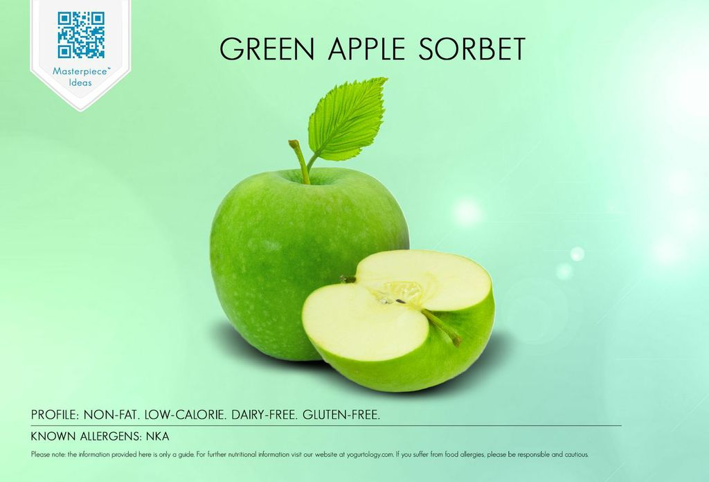 Green Apple Sorbet | Yogurtology®